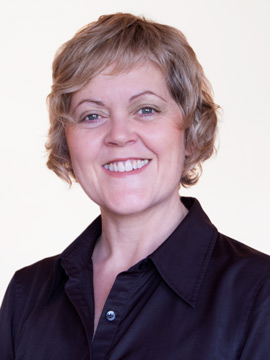 English Coach Jane O'Brien